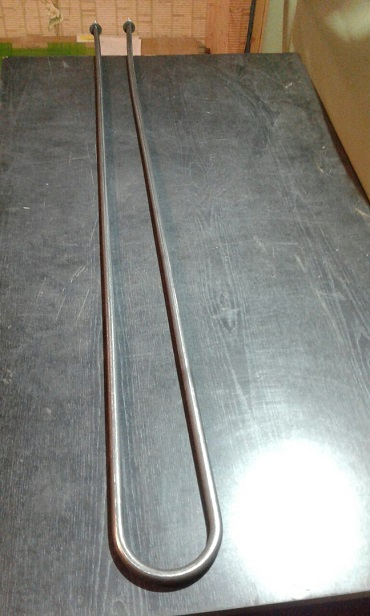 Электронагреватель трубчатый тэн-60a 12/2. 0квт 220в
