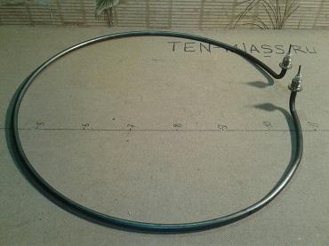 Тэн 204А12/9,0j380ш1/2 эскиз.Развернутая длина 204см.Диаметр трубки 12мм. Мощность-9,0кВт. Напряжение-380В. Штуцер-1/2.Эскиз