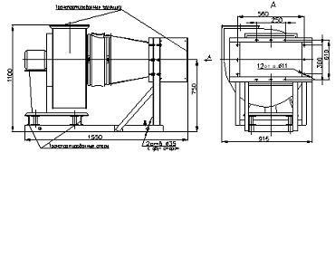 Тэн для электрокалориферной установки СФОЦ-100