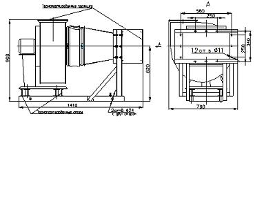 Тэн для электрокалориферной установки СФОЦ-40